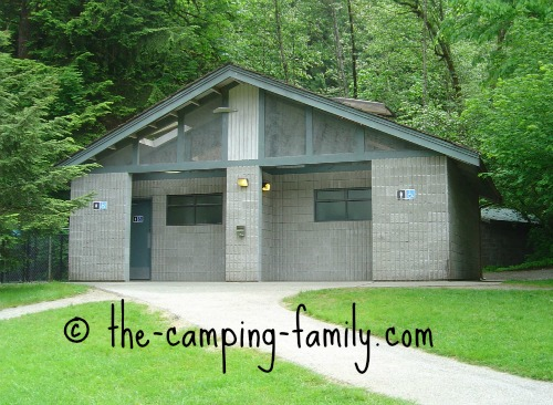 campground comfort station