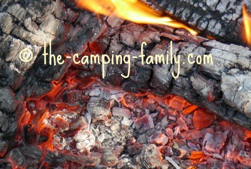 campfire coals