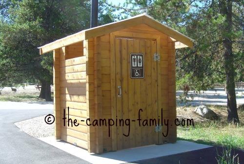modern outhouse