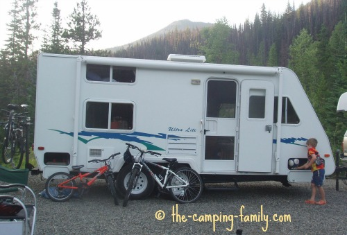 Okanagan Ultralight trailer