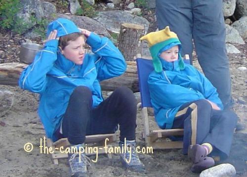 boys in raincoats