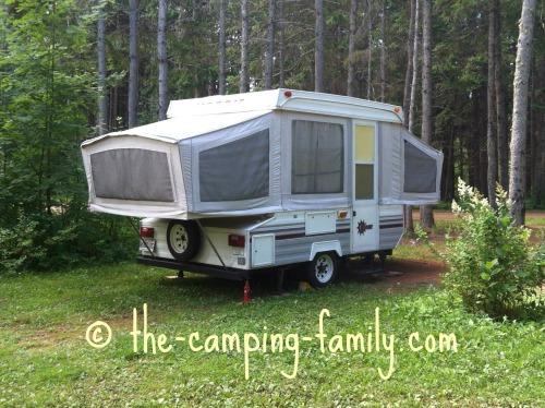 pop up tent trailer