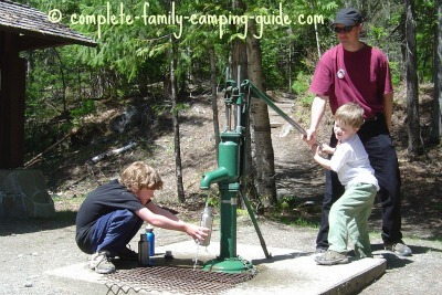 old fashioned water pump