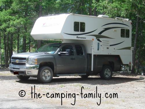 newer truck camper